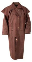 Brown Full Length Mens Womens Australian Duster Coat[10102]
