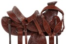 Dark Oil A Fork Ranch Roping Western Horse Saddle 16[10513]
