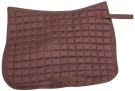 Brown Square All Purpose Jumping English Saddle Pad