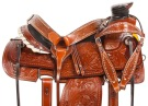 Pro Series Ranch Roping Western Horse Saddle Tack 15 18[10787]