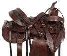Classic Brown Western Pleasure Trail Horse Saddle 15