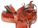 Medium Oil Extra Wide Western Pleasure Trail Saddle 15[10823] (Out Of Stock)