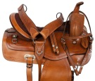 Classic Chestnut Comfy Western Pleasure Trail Saddle 15 [10824]