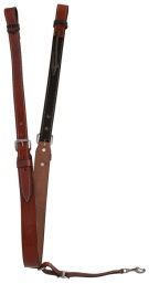 Medium Oil Western Leather Saddle Back Cinch With Billet Straps