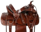Brown Western Pleasure Trail Ranch Horse Saddle Tack 15 [10827]