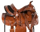 Beautiful Western Pleasure Barrel Horse Saddle 14 15 16 [10831]