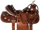 Beautiful Hand Carved Western Trail Horse Saddle Tack 15[10853] (Out Of Stock)