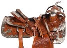Chestnut Silver Star Show Western Horse Saddle Tack 16