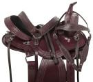 Western Pleasure Trail Endurance Horse Saddle Tack 15 16[10943]