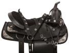 Texas Star Black Dura Leather Western Horse Saddle 15 16[10946]