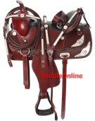 Texas Star Western Horse Show Saddle Tack 15 16 17 [1500] (Out Of Stock)