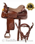 Comfortable Western Horse Trail Saddle Tack Set 15 [2079A] (Out Of Stock)
