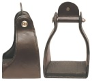 Abetta Leather Trail Leather Endurance Stirrups Brown [21670] (Out Of Stock)