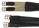 Black English Leather Girth W Elastic Ends 46-52 [2268] (Out Of Stock)