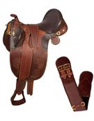 Australian Saddle Horn Stirrups Over Girth 18 19 20[3029A] (Out Of Stock)
