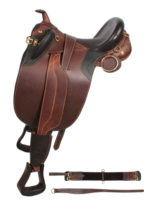 Australian leather horse saddle 16 19 western horse saddles saddle