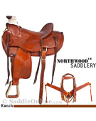 New High Country Ranch Rancher Work Saddle Tack 17[8080] (Out Of Stock)