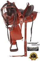 Amazingly Comfortable Mahogany Trail Endurance Saddle 17 [8120] (Out Of Stock)