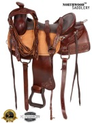 Light Weight Comfortable Western Leather Saddle 16 [8137] (Out Of Stock)