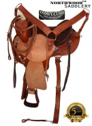 Amazingly Comfortable Arabian Trail Endurance Saddle 16 17 [8183] (Out Of Stock)