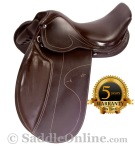 NEW Brown All Purpose Eventing Dressage Horse Saddle 16 [8202]