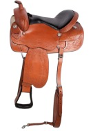 New Brown Comfortable Pleasure Trail Saddle 17 18 [8212] (Out Of Stock)