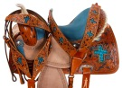 Blue Cross Rough Out Barrel Racing Western Horse Saddle 16 [9473] (Out Of Stock)