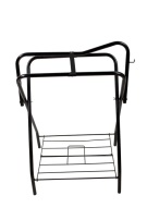 Black Folding Horse Saddle Stand Rack [9527]