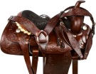 Ranch Work Roping Pleasure Western Horse Saddle 16 [9563]