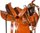 Round Skirt Endurance Trail Western Horse Saddle 17 [9682]