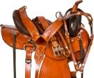Round Skirt Endurance Trail Western Horse Saddle 16 18[9682]