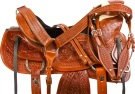 Hand Carved Ranch Roping A Fork Wade Western Horse Saddle [9728] (Out Of Stock)