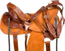 Rough Out A Fork Wade Tree Roping Ranch Horse Saddle 15 17 [9729]
