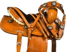 Western Mini Miniature Youth Kids Show Horse Saddle Tack [9732M] (Out Of Stock)
