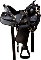 Comfy Western Gaited Horse Synthetic Trail Saddle Tack [9749]