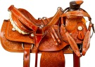 Studded A Fork Wade Tree Roping Western Horse Saddle 16 [9777]