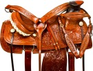 Western Pleasure Mule Saddle Tack Leather 15 16[9782M] (Out Of Stock)