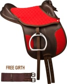 Brown Red Synthetic Lead Line Kids Pony Horse Saddle Girth 12 [9800]