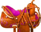 Royal Purple Barrel Racing Western Horse Saddle Tack 15 [9881] (Out Of Stock)