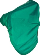 Green Nylon Waterproof All Purpose English Saddle Cover
