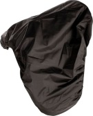 Black Nylon Waterproof All Purpose English Saddle Cover