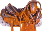 Lightning Bolt Silver Western Horse Show Saddle Tack 16[9965] (Out Of Stock)