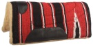 Red Navajo Pony Fleece Felt Western Saddle Pad [B0497] (Out Of Stock)