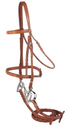 Premium Tan Leather All Purpose English Horse Bridle & Reins [B0622]