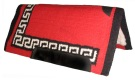 Red Black & White Heavy Duty Wool Western Horse Saddle Pad [B1736] (Out Of Stock)