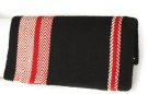 Premium Black Red White Geometric Pattern Show Blanket[B1799] (Out Of Stock)