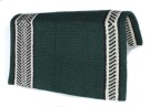 Green And White Desgin Premium Wool Show Blanket[B1897] (Out Of Stock)