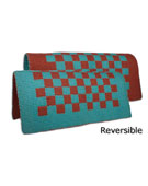Reversible Checkers Saddle Show Blanket [B1978] (Out Of Stock)