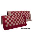 Red with Sand reversible with checkered designed [B2015D]