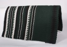 New Zealand Wool Green Show Saddle Blanket [B2043D] (Out Of Stock)